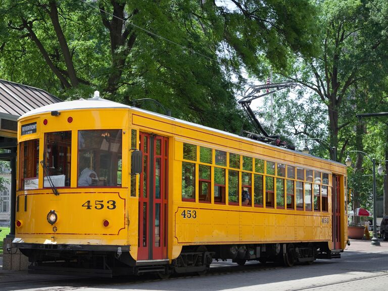 Memphis, Tennessee trolley bus