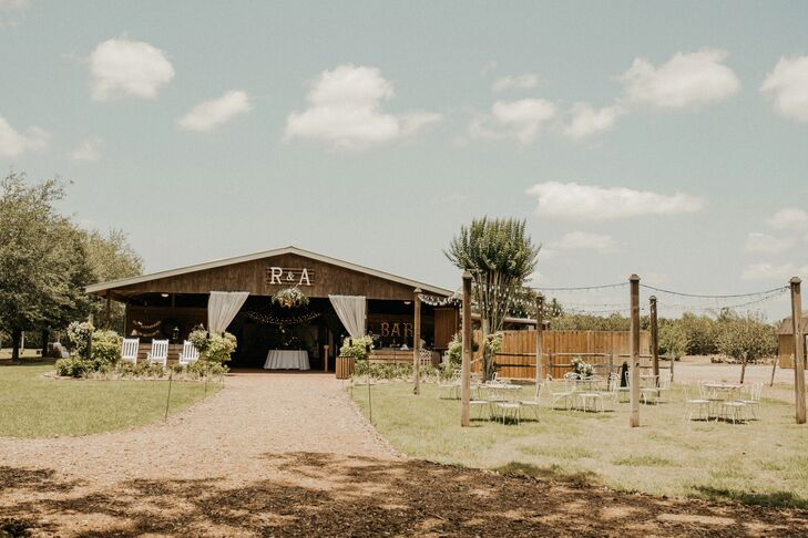Open-Air Barn Reception