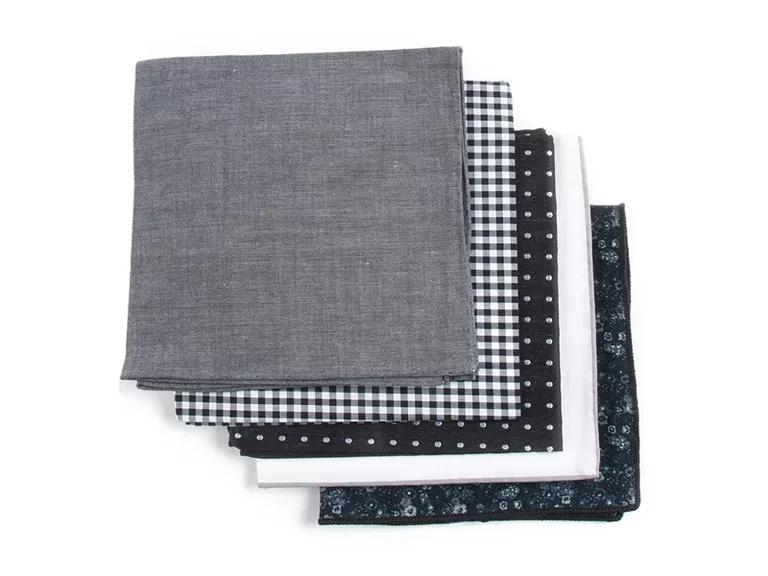 set of pocket squares