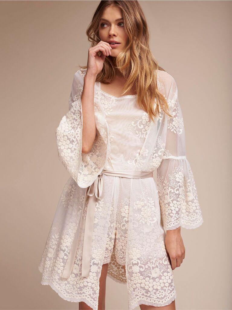 Cancer bridal robes