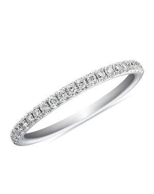 Blue Nile 74769 White Gold Wedding Ring