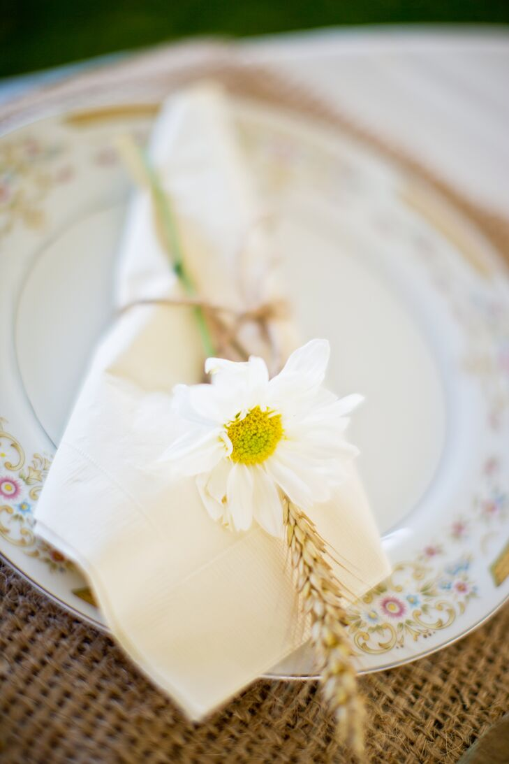 Mismatched Vintage China Place Settings