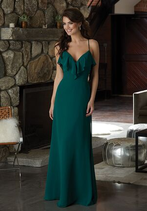 Morilee by Madeline Gardner Bridesmaids 21581 V-Neck Bridesmaid Dress