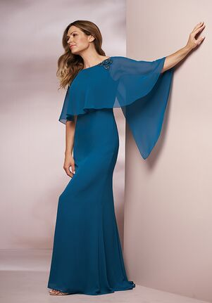 Jade Mother of the Bride by Jasmine J205008 Blue Mother Of The Bride Dress