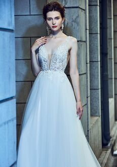 Calla Blanche 18120 Spencer Ball Gown Wedding Dress