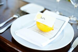 Lemon Place Setting