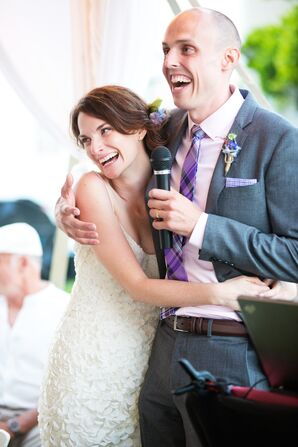 Shelly and Ben's Relaxed Tented Reception
