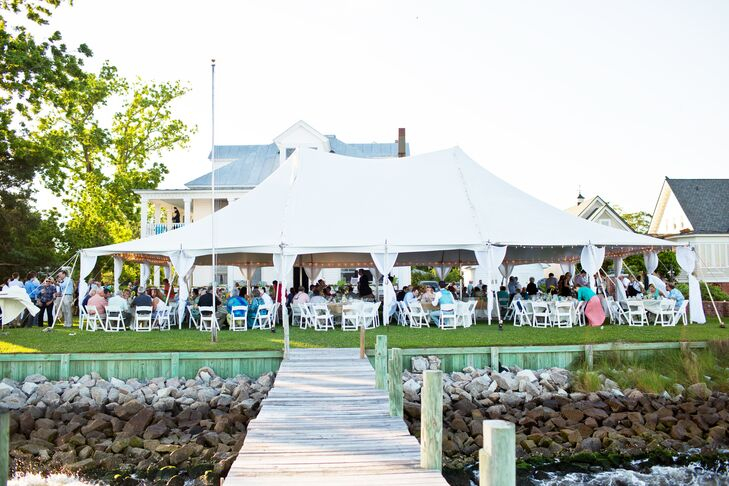Waterfront Reception at The Stallings House