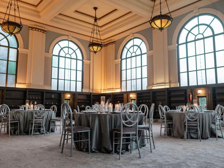 Library wedding venue in San Francisco, California.
