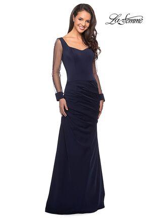 La Femme Evening 25064 Black Mother Of The Bride Dress