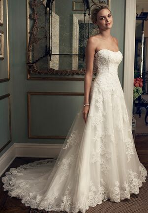 Casablanca Bridal 2222 A-Line Wedding Dress