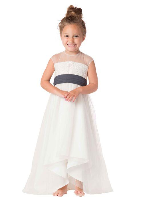 Bari Jay Flower Girls F6517 Ivory Flower Girl Dress