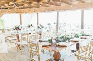Bohemian Beachfront Reception