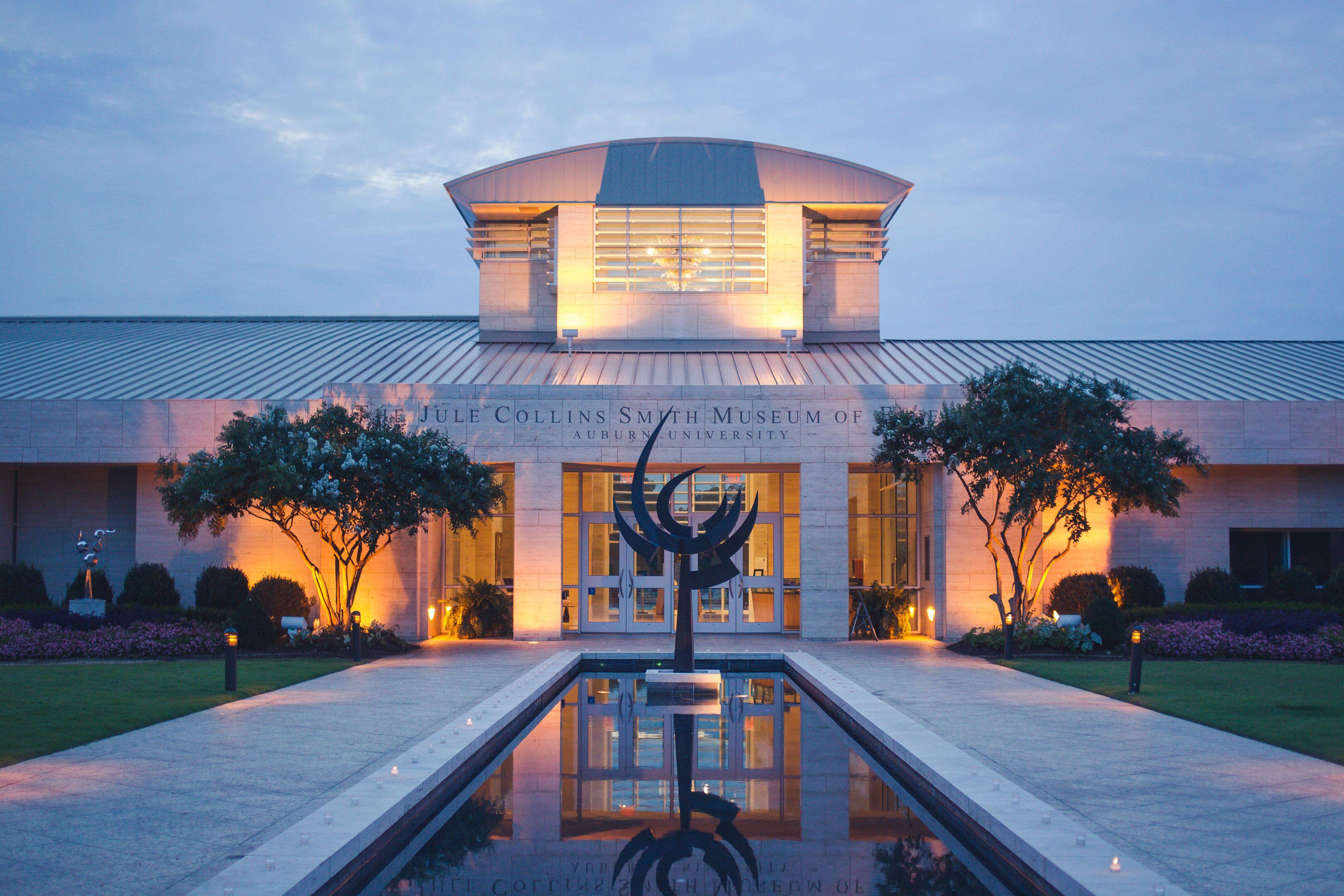 Jule Collins Smith Museum Of Fine Art Auburn University