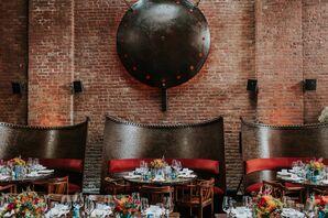 Modern Reception at MyMoon in Brooklyn, New York