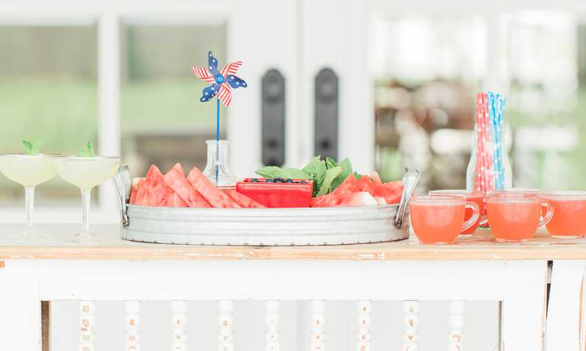 4th of July Formal party themed inspiration and ideas