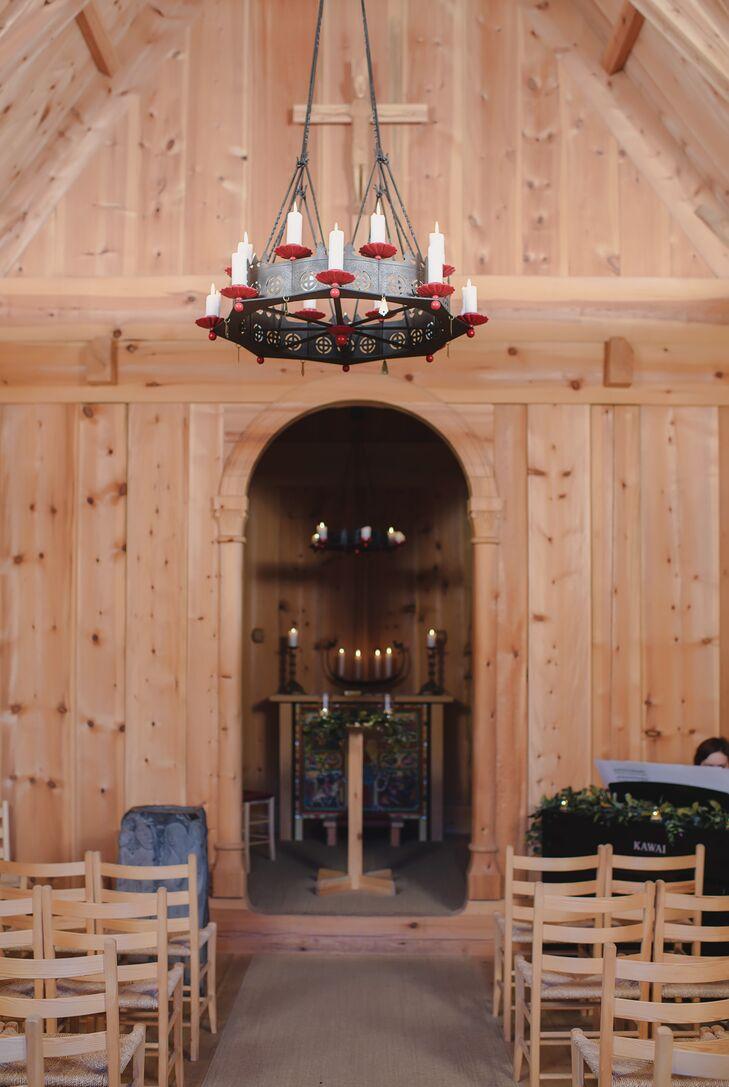 Candlelit Church Chandelier