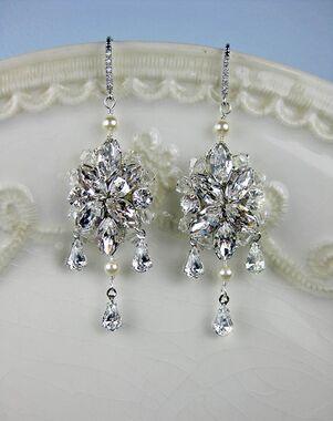 Everything Angelic Blanca Earrings - e321 Wedding Earring photo
