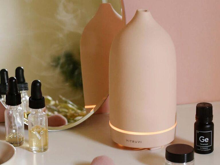 Blush aromatherapy diffuser