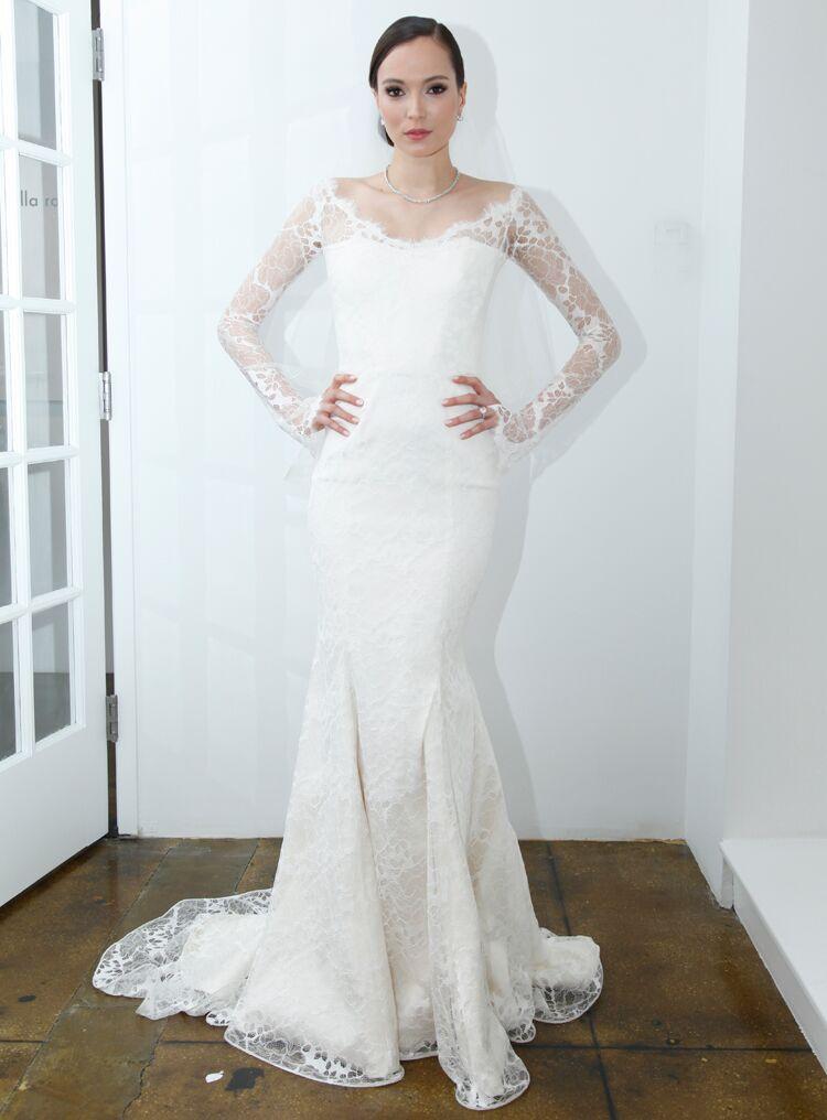 Pamella Roland Spring Wedding Dresses Bridal Fashion Week