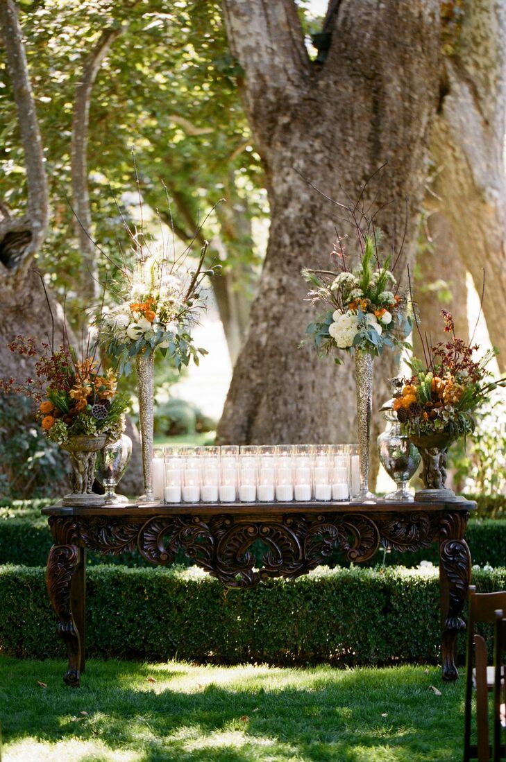 Outdoor Altar Decor