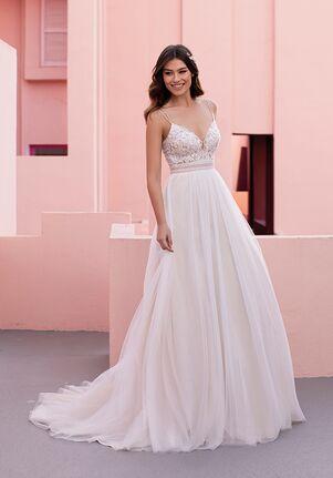 WHITE ONE ESSENTIALS CLEO Ball Gown Wedding Dress