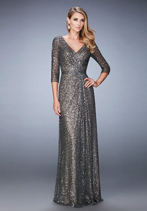 a8761992b7 La Femme Evening 21900 Mother Of The Bride Dress - The Knot
