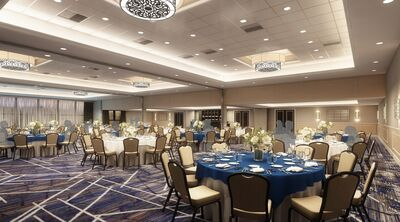 Keystone Ballroom at DoubleTree by Hilton Valley Forge