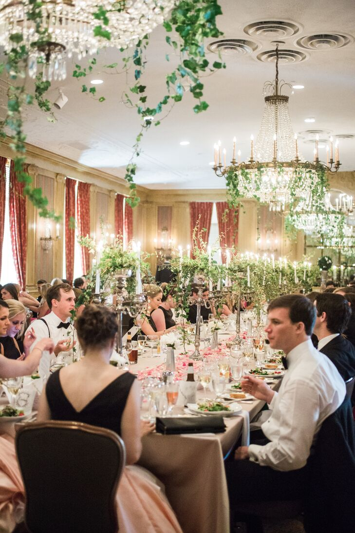 """All my life I have dreamed of having my reception at the Fort Worth Club, so that was a given,"" Ivy says. ""It has all the classic architecture and grandness that a classicist such as myself could ever want. The building is over 100 years old and has a fantastic history."""