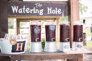 Iced Tea Cocktail Hour Station