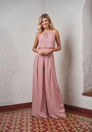 JASMINE P216065 Halter Bridesmaid Dress