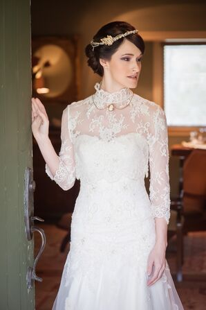 Edwardian Inspired Wedding Dress