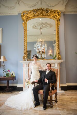 Elegant, Vintage Inspired Wedding
