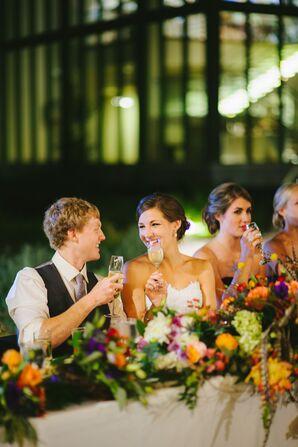 Romantic Fall Wedding in San Antonio, Texas