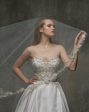 Blossom Veils & Accessories BV1463 Ivory Veil