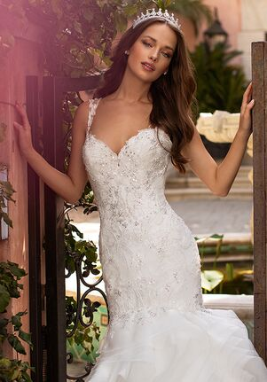 Moonlight Couture H1424 Mermaid Wedding Dress