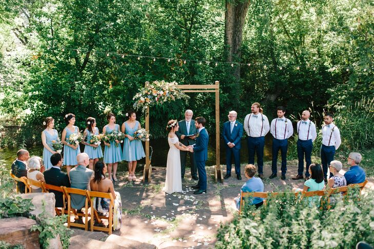Intimate Bohemian Ceremony at The Lyons Farmette in Colorado