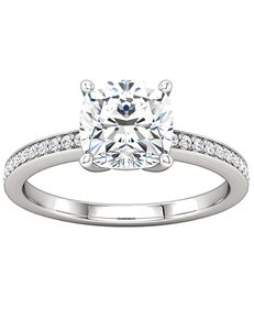 ever&ever Classic Princess, Asscher, Cushion, Emerald, Marquise, Pear, Round, Oval Cut Engagement Ring