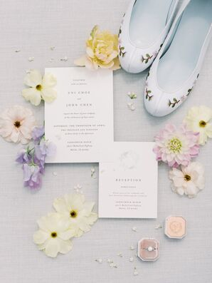 Elegant Wedding Invitations with Simple Typography