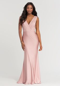 Kleinfeld Bridesmaid KL-200021 V-Neck Bridesmaid Dress