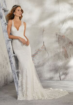 Morilee by Madeline Gardner/Blu 5685 / Leia Sheath Wedding Dress