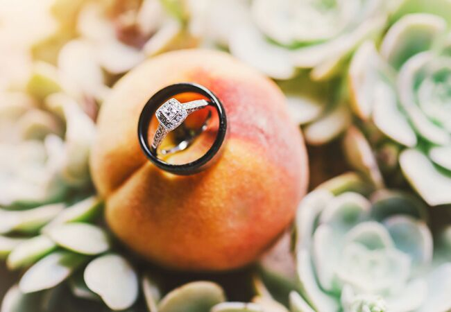 Creative Ways to Display Ring/Connection Photography/The Knot blog