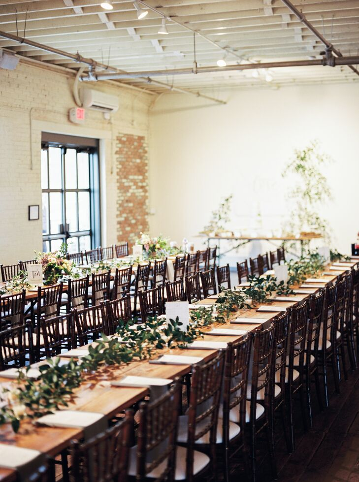 Long Bare Wood Dining Tables