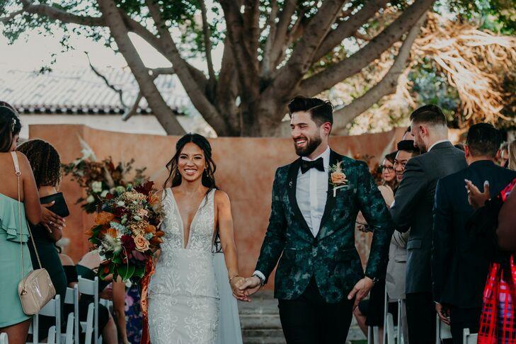 Recessional at Scottsdale, Arizona, Wedding