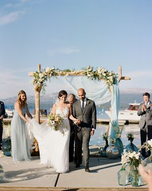 Elegant Lakeside Ceremony in Idaho