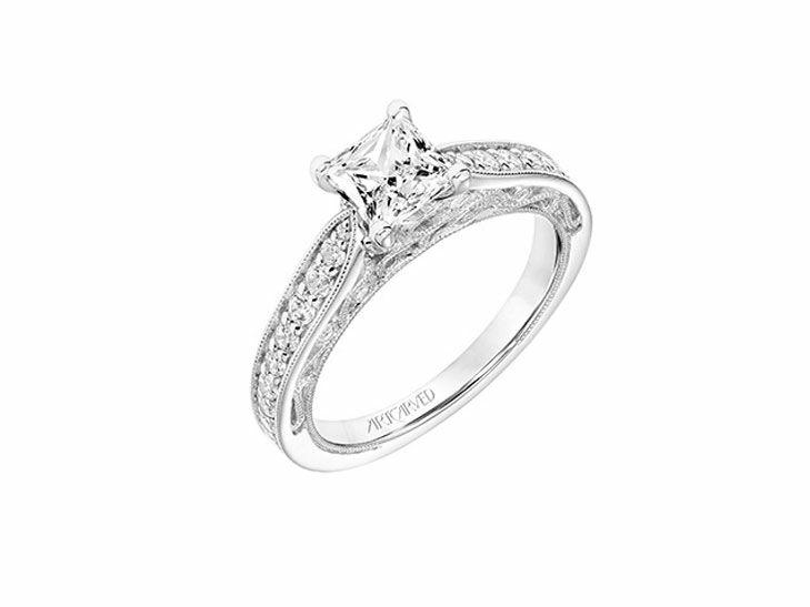 ArtCarved Vintage Inspired Engagement Ring
