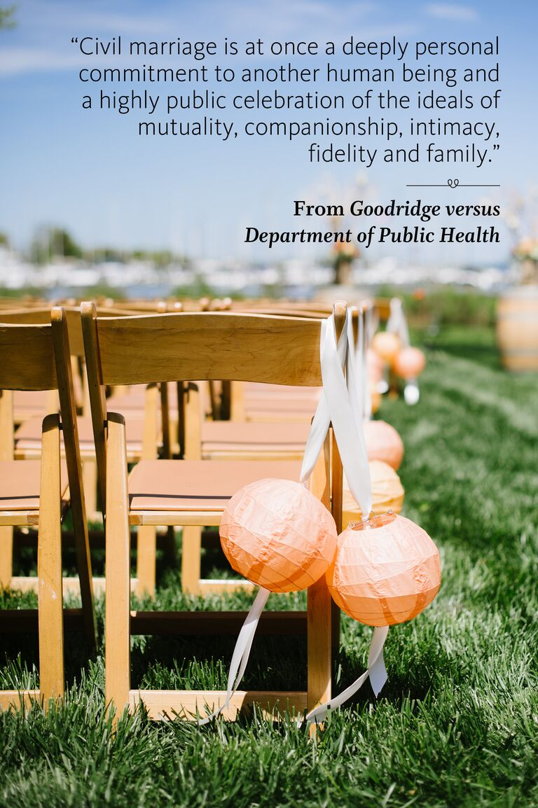 Department of Public Health wedding ceremony reading