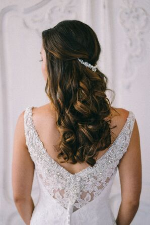 Half Up Wedding Hair.Half Up Wedding Hairstyles