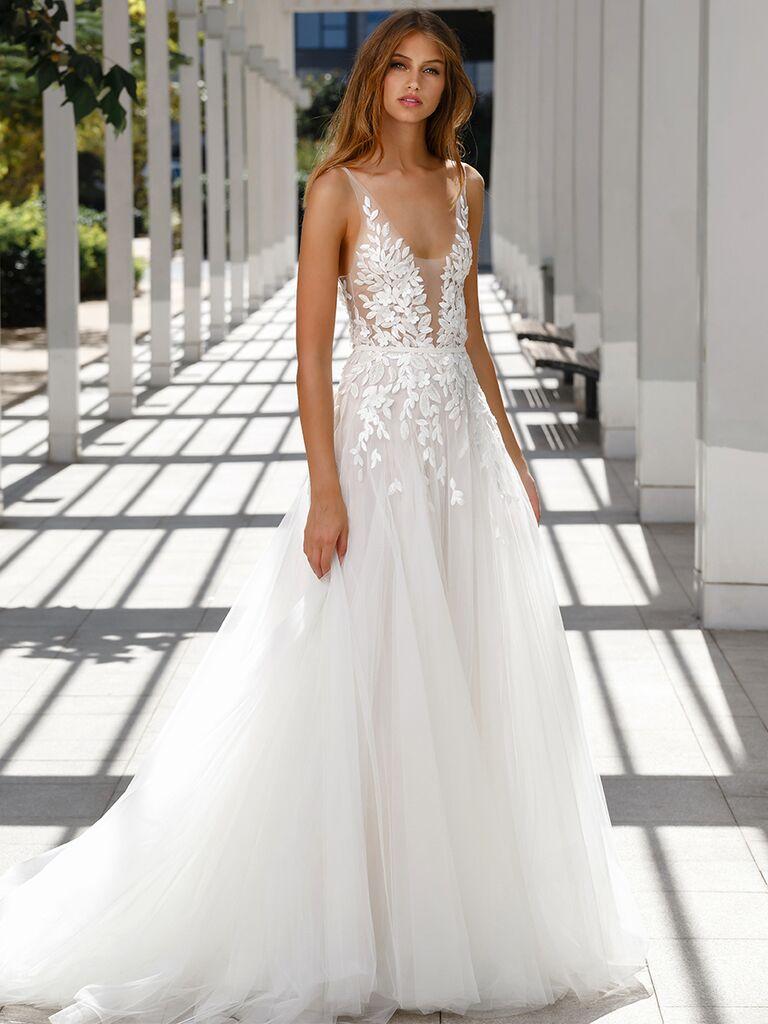 Mira Zwillinger V-neck silk dress