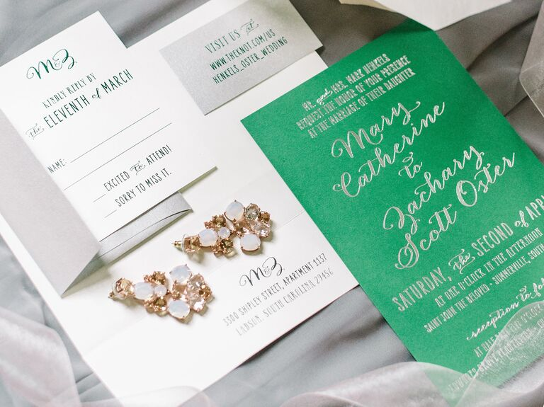 emerald suite invitation suite